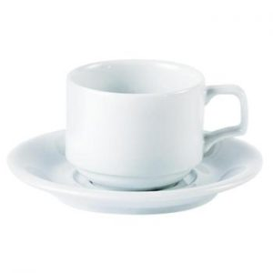 Porcelite Cup and Saucer